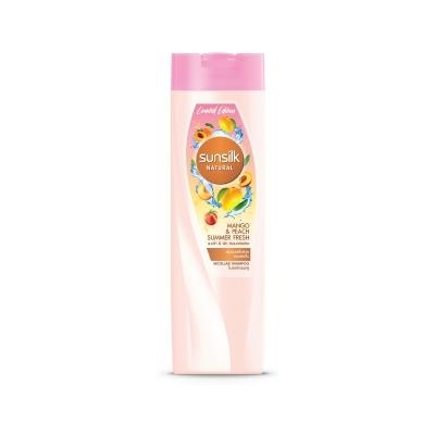 Natural Shampoo : Mango & Peach Summer Fresh