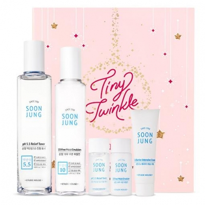 Tiny Twinkle Soon Jung Skin Care Set