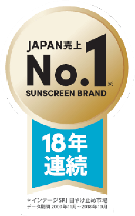 No.1 in sales for 17 consecutive years in Japan.
