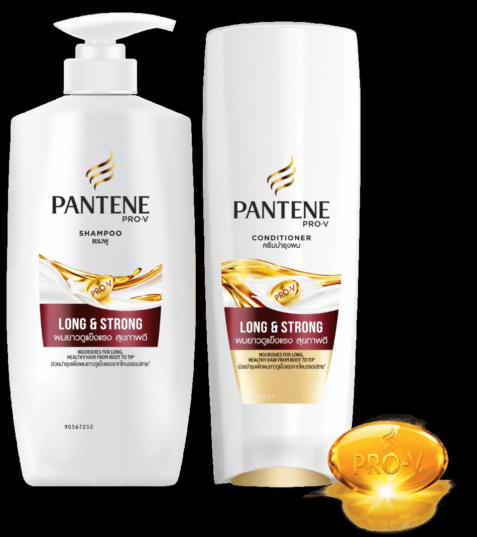 PANTENE Long & Strong