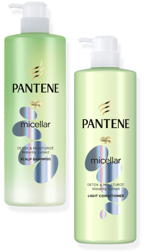 PANTENE micellar - Detox & Moisturize