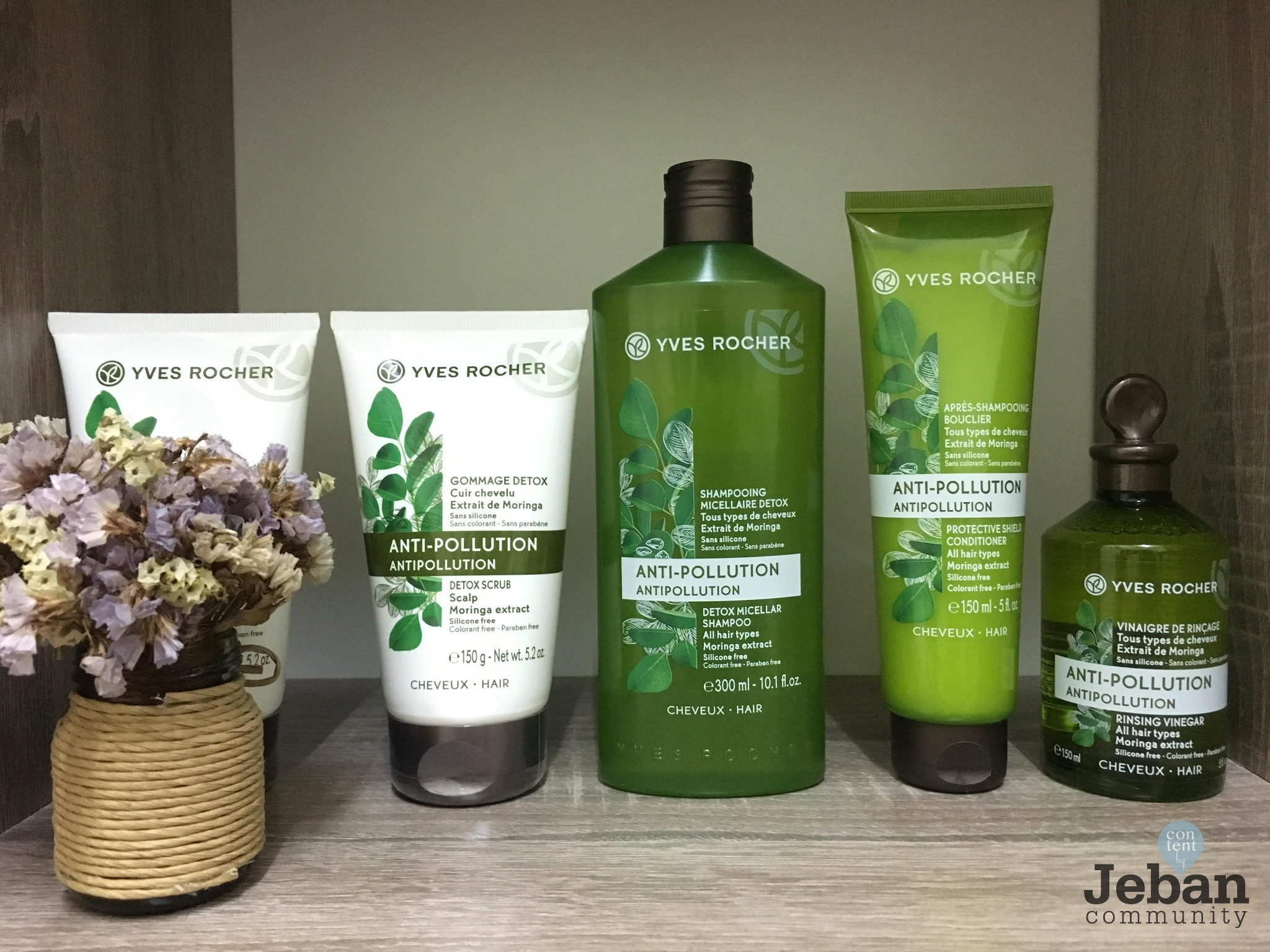 REVIEW  YVES ROCHER TIME FOR HAIR DETOX THERAPY a218954fc8811