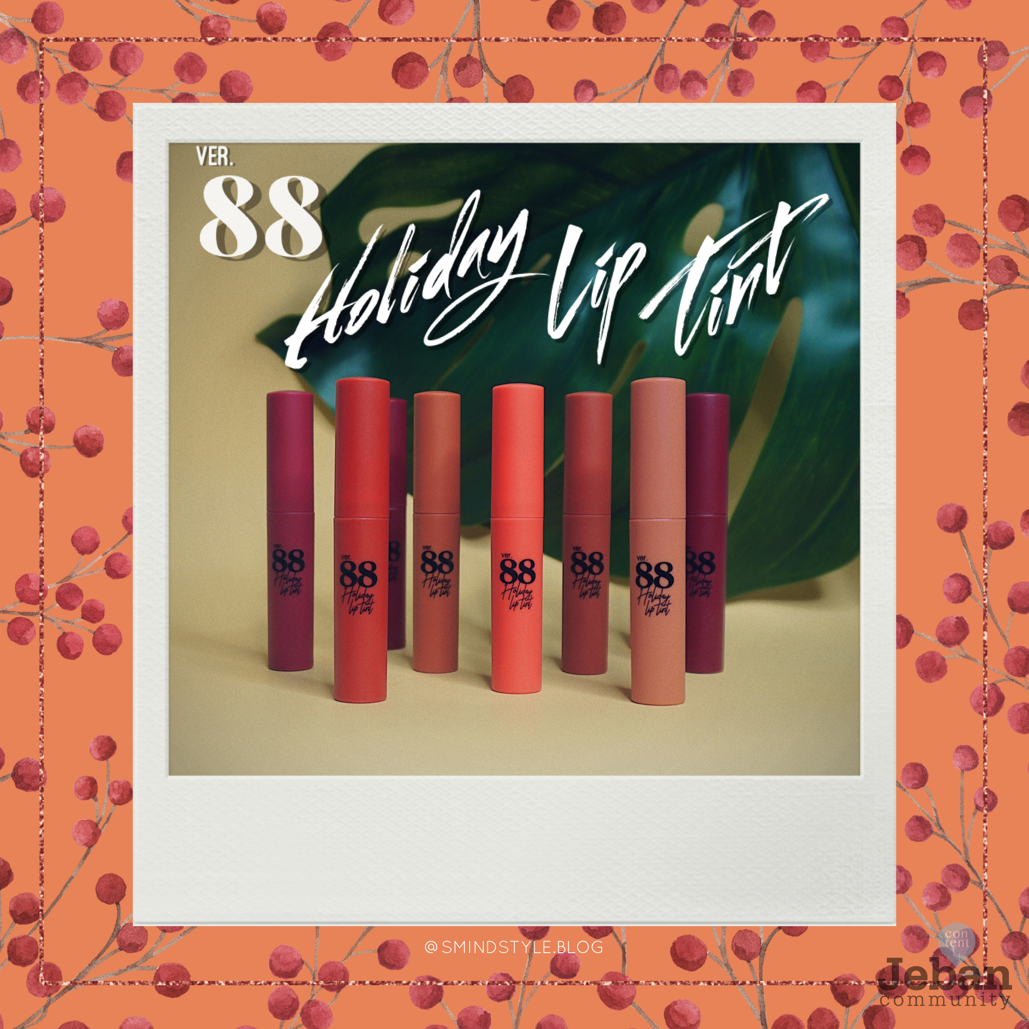 Ver.88 Holiday Lip Tint