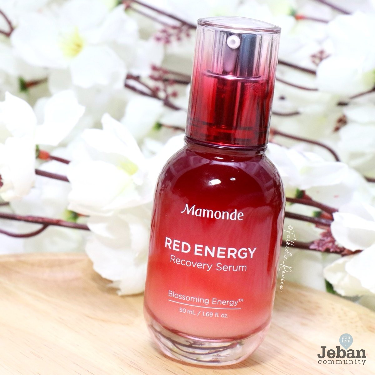 Red Energy Recovery Serum by Mamonde #9