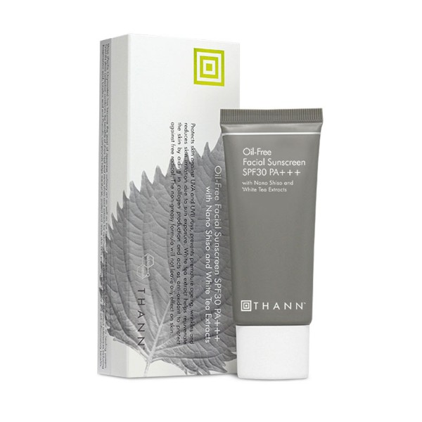Oil-Free Facial Sunscreen SPF30 PA+++ with Nano Shiso and White Tea Extracts