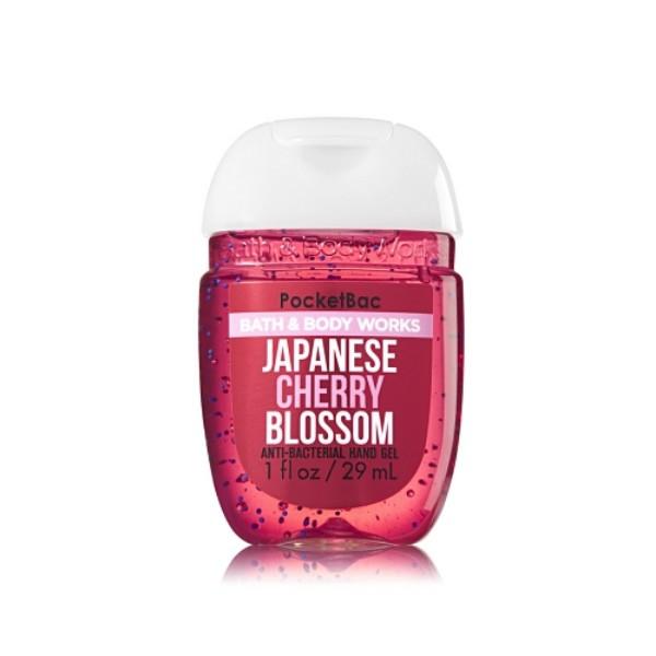 Japanese Cherry Blossom : PocketBac Sanitizing Hand Gel