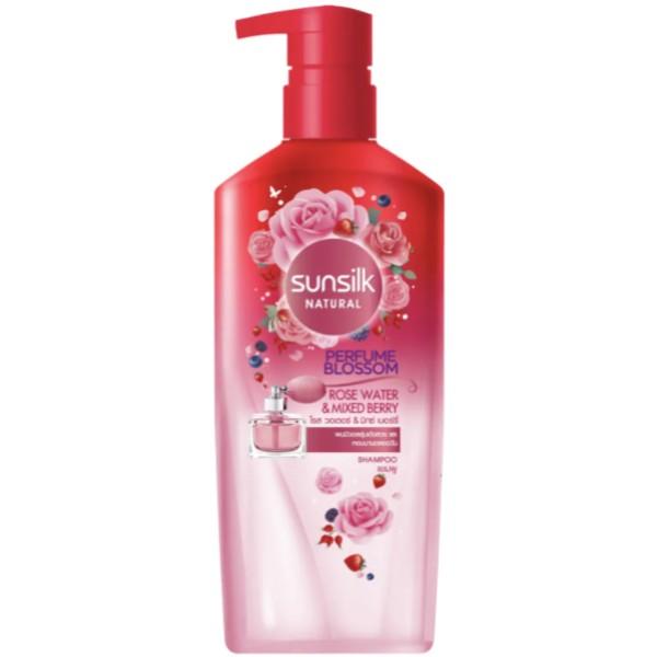 Natural Shampoo Perfume Blossom Rose Water Mixed Berry