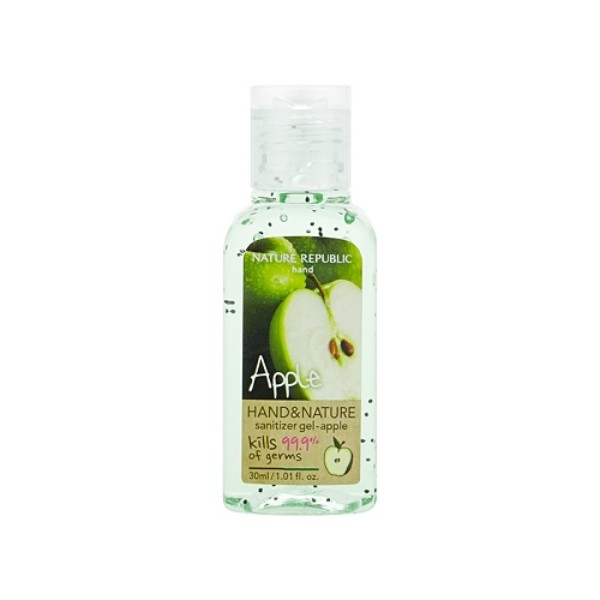 Hand and Nature Sanitizer Gel : Apple