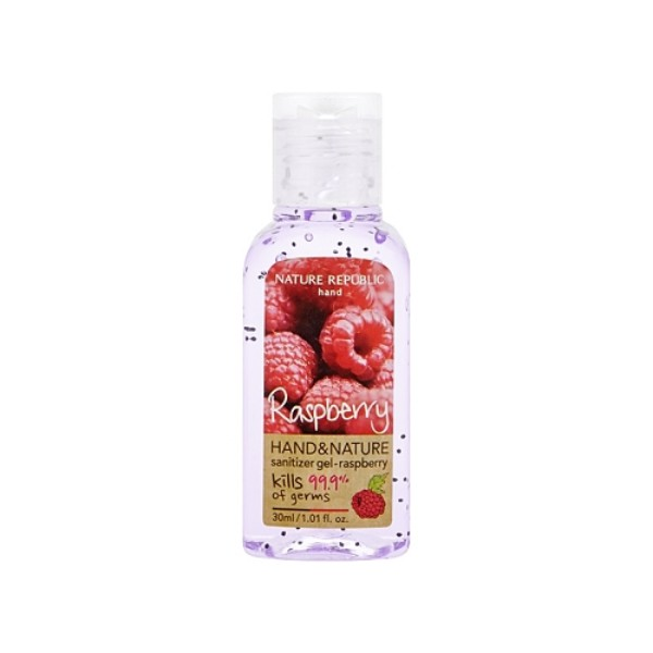 Hand and Nature Sanitizer Gel : Raspberry