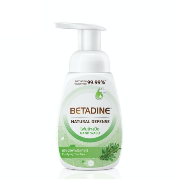 Natural Defense Purifying Tea Tree Hand Foam Wash