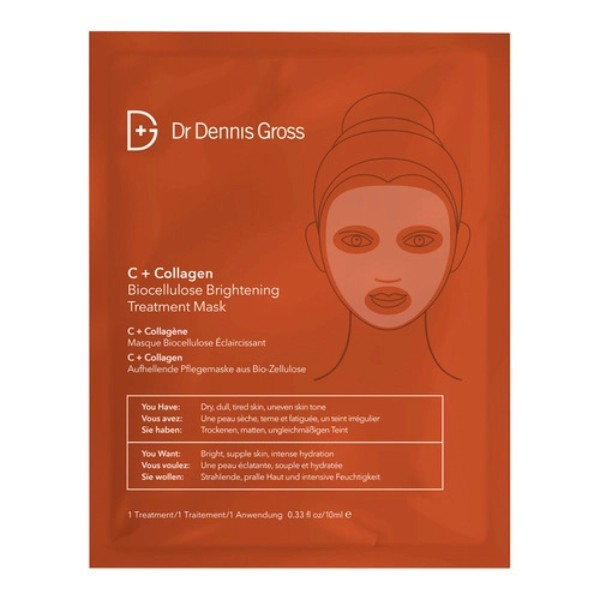 C + Collagen Biocellulose Brightening Treatment Mask