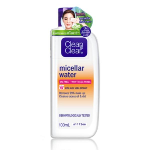 Micellar Water Cleansing