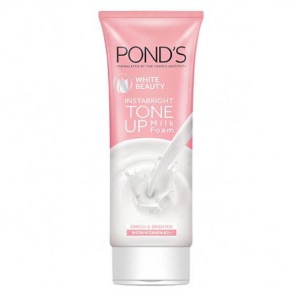 White Beauty InstaBright Tone Up Milk Foam Enrich