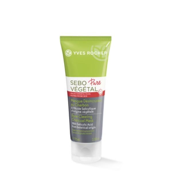Sebo pure vegetal : Pore Clearing Charcoal Mask