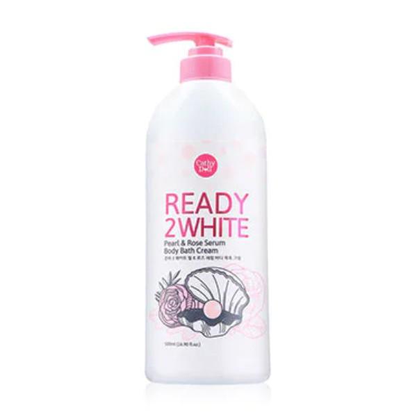 Ready 2 White : Pearl & Rose Serum Body Bath Cream
