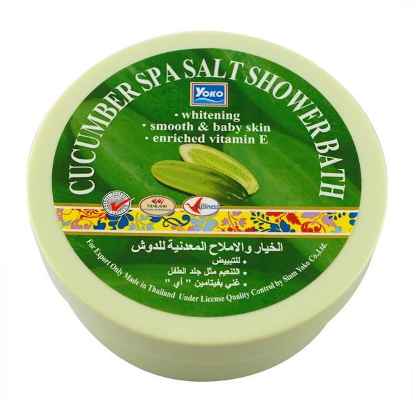 Cucumber Spa Salt Shower Bath