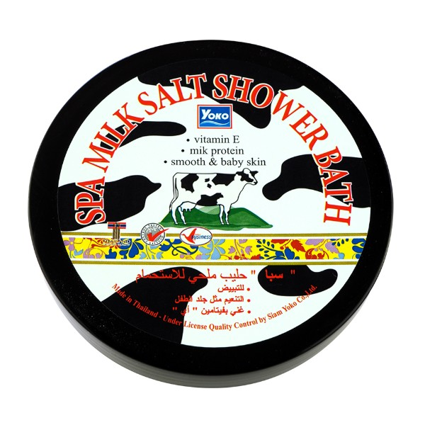 Spa Milk Salt Shower Bath
