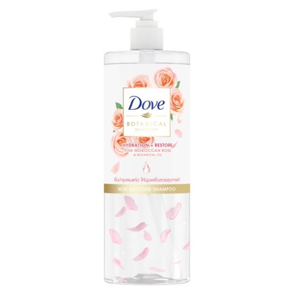 Dove Botanical Selection Pink Moroccan Rose Shampoo