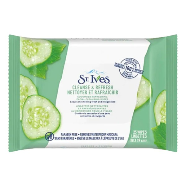 Cucumber Cleanse & Refresh Wipes