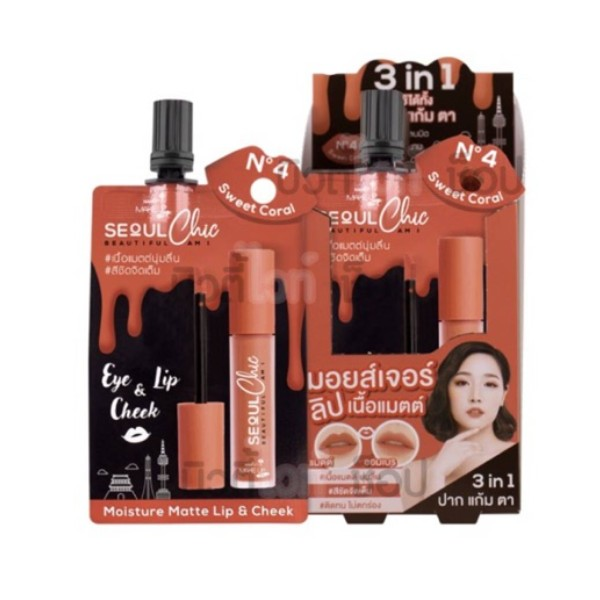 Make Up Pro Seoul Chic Moisture Matte Lip & Cheek