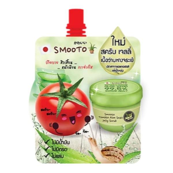 Tomato Aloe Snail Jelly Scrub