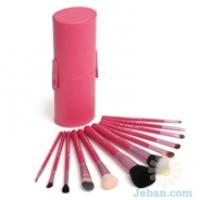 12 Brush kit Make Me Blush Coral