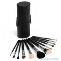 12 Brush kit Make Me Classy Black