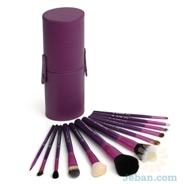 Sigma 12 Brush Kit Make Me Crazy Purple