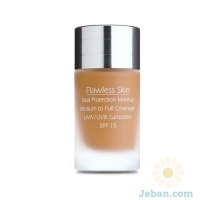Flawless Skin Total Protection Makeup Spf 15