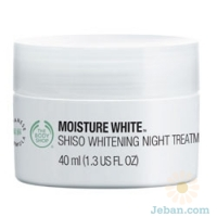 Moisture White™ Shiso Whitening Night Treatment