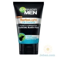 Charcoal Black Foam For Men