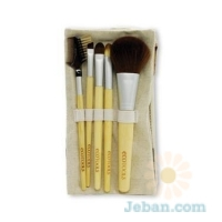 Bamboo : 6 Piece Brush Set