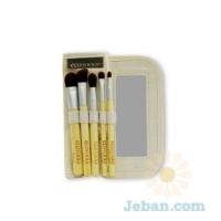 Bamboo : 6 Piece Eye Brush Set