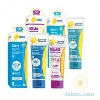 SPF 50+ Sunscreens