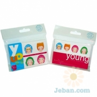 Young Natural Face Facial Blotters
