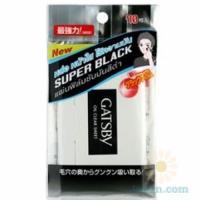 Oil Clear Sheet Super Black