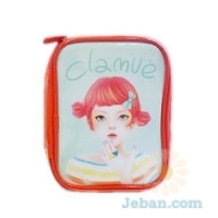 Orange Sherbet Girl Pouch