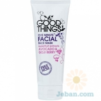 Five Minute Facial Face Mask
