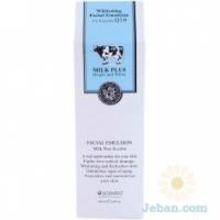 Milk Plus Whitening Q10 Facial Emulsion