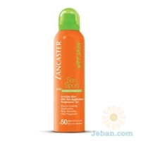 Close Close Invisible Mist Wet Skin Application SPF50