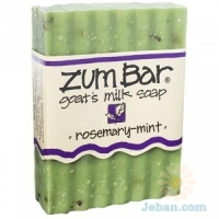 All-natural Goat's Milk Soap : Rosemary-mint