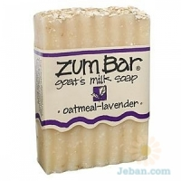 All-natural Goat's Milk Soap : Oatmeal-lavender