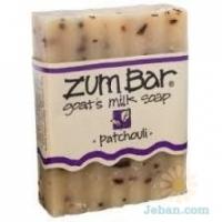All-natural Goat's Milk Soap : Patchouli