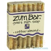 All-natural Goat's Milk Soap : Coffee-almond