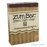 All-natural Goat's Milk Soap : Frankincense & Myrrh
