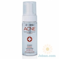 Acne Foaming Facial Cleanser : With Salicyic
