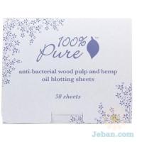 Anti-bacterial Wood Pulp Oil Blotting Paper