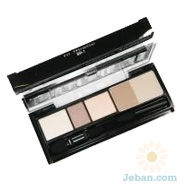 brown collection eye shadow & brow