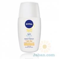 Sun Whitening Perfect Protect Milk : Glow Serum SPF 50