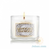 Mahogany Teakwood : Mini Candle